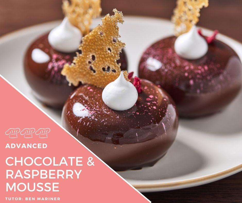Chocolate and Raspberry Cakes