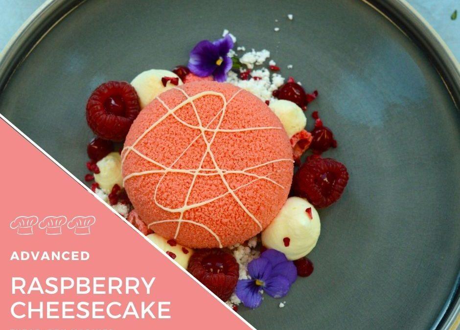 Recipe – Rosewater & Raspberry Cheesecake