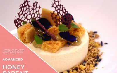 Recipe – Lavender Honey Parfait, honeycomb and toasted oats