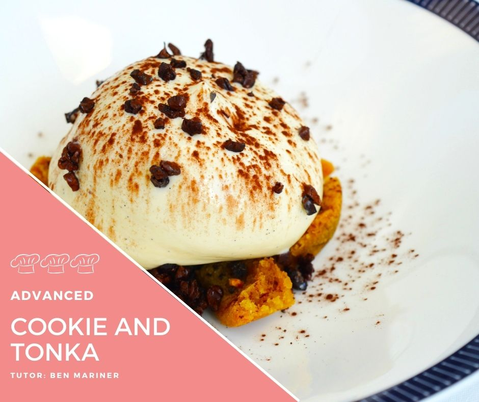 Recipe – Cookies, Malt and Tonka bean