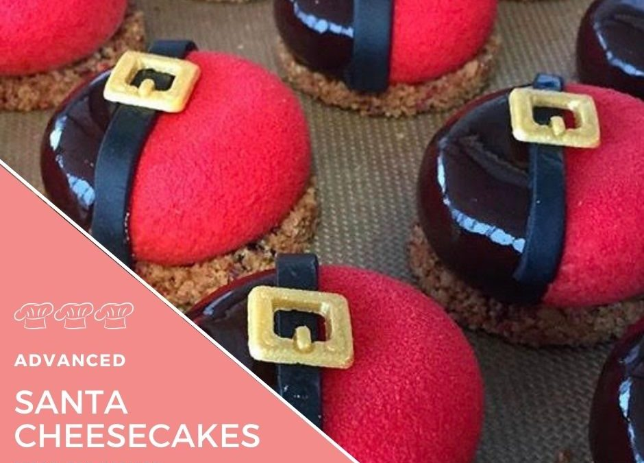 Recipe – Santa Cheesecakes