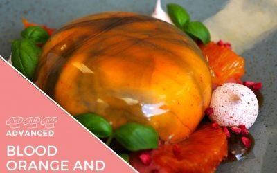Recipe – Blood orange cheesecake