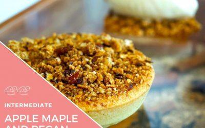 Recipe – Apple and custard tart, maple and butter ice cream