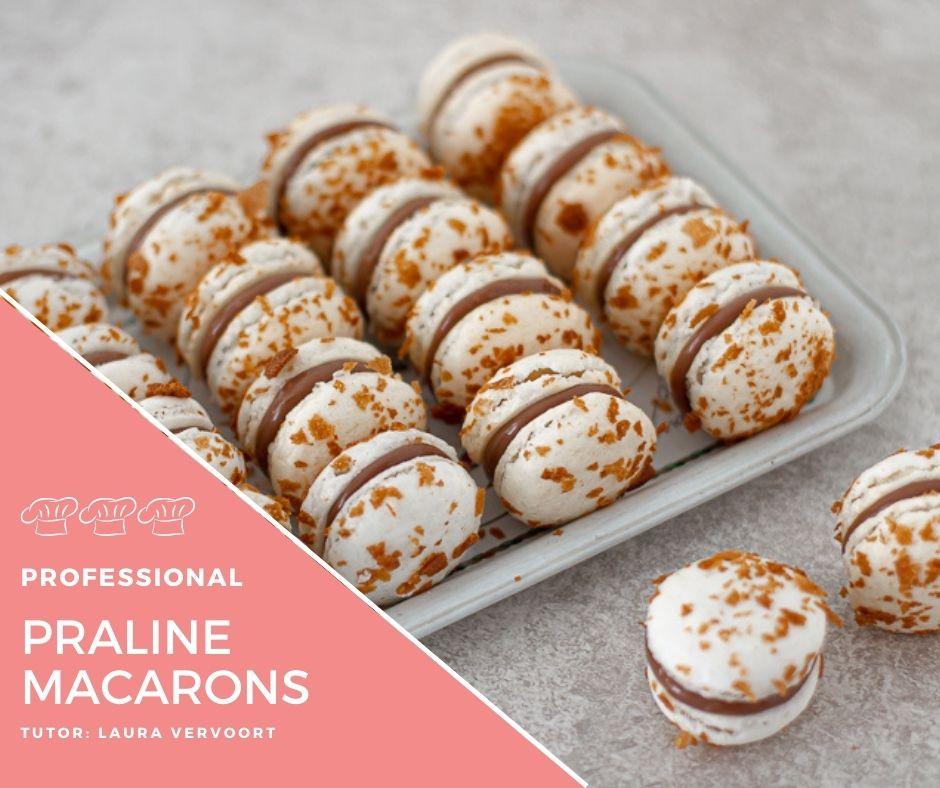 Praline Macarons