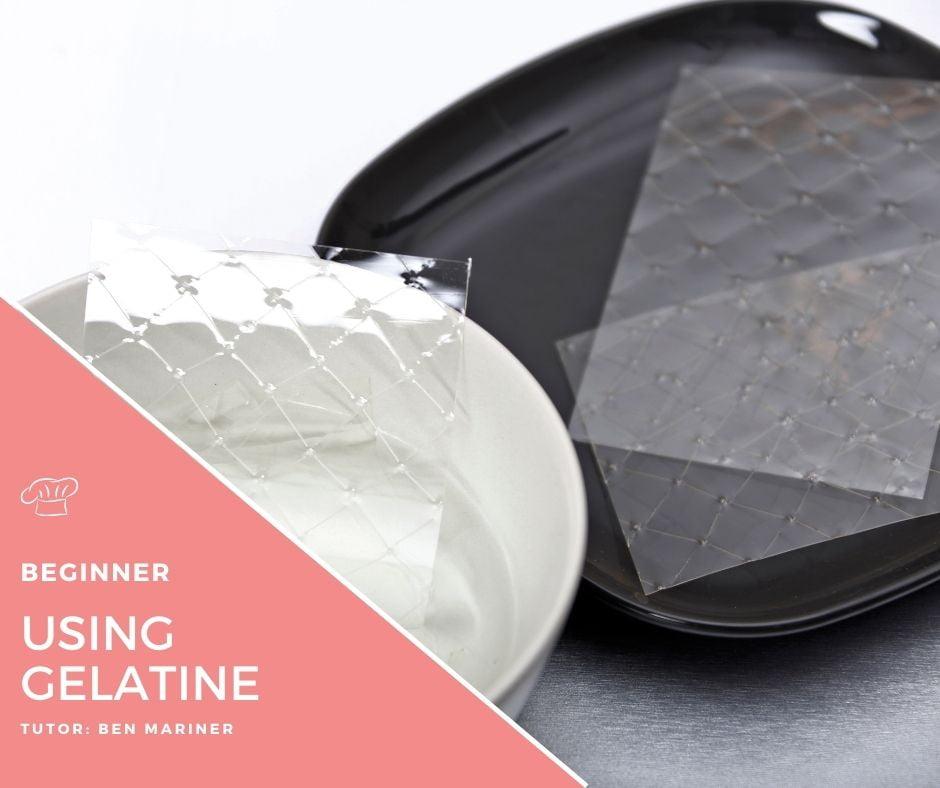 Soaking gelatine