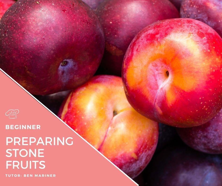 Preparing Stone fruits