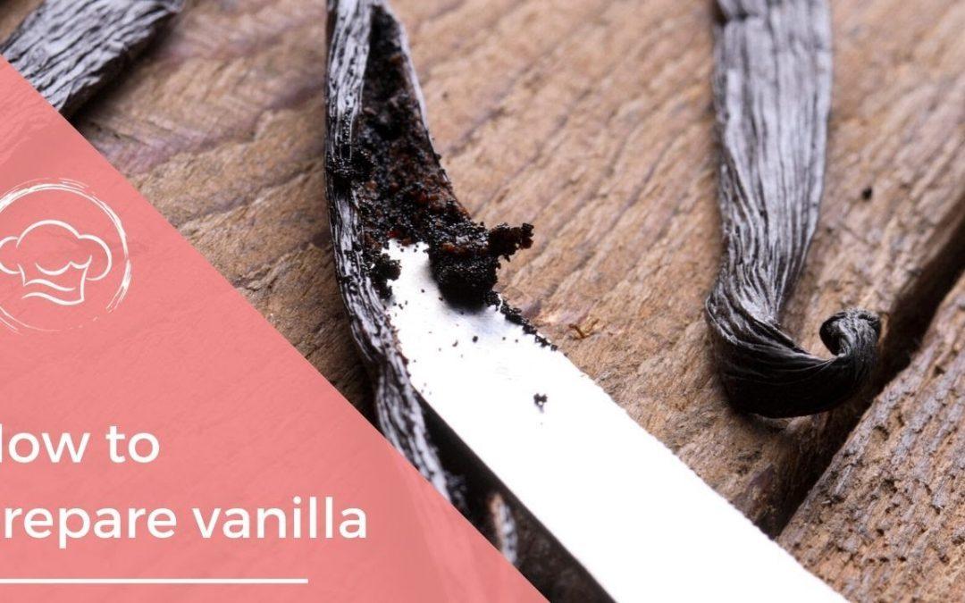 How to use a Vanilla Pod