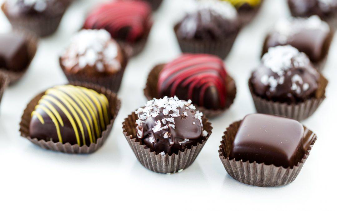 Recipe – Milk chocolate truffles with passion fruit
