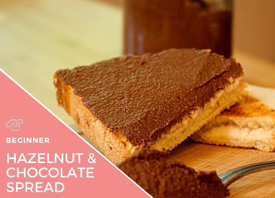 Homemade Chocolate and Hazelnut Spread